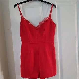 Size 8 Play Suit Worn Once