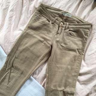 Caramel Topshop Jeans