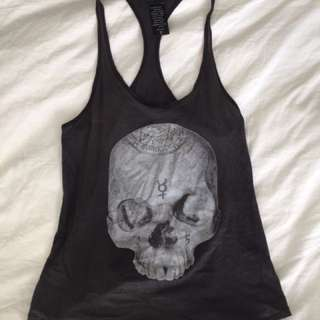 Skull Tank Top | Aritzia Talula