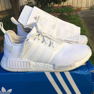 Adidas NMD Triple White Size US9.5