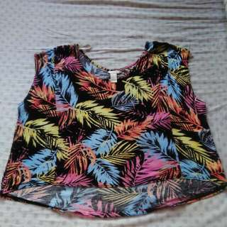 Forever 21 Water Color Blouse
