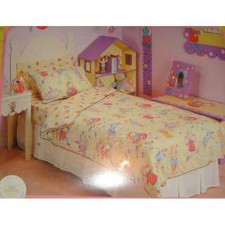 BNIP Off The Wall Girls Single Quilt Cover Set
