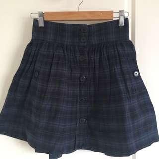 French Connection FCUK Tartan Mini Skirt-size 10