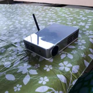 Portable 1080p Android LED Projector - WIFI & BLUETOOTH ENABLED - Can Turn Into ANDROID Box