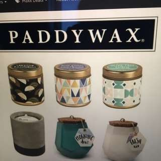 6 Paddywax Candles
