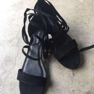 Famous Footwear Strap Heels size 9