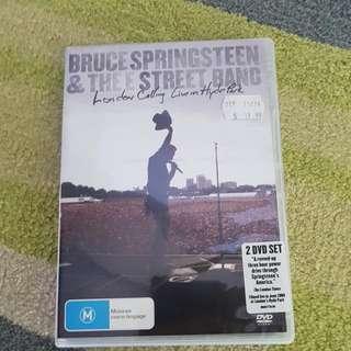 Bruce Springsteen DVD Set