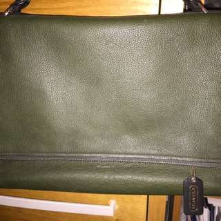 Authentic Coach Briefcase Shoulder Bag