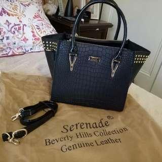 Serenade Beverly Hills Collection Genuine leather Handbag