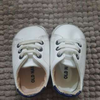 old navy stan smith-style baby shoes