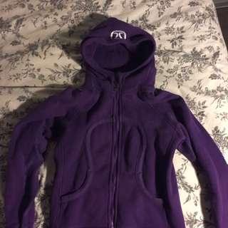 Lulu Lemon Sweatshirt Dark Purple