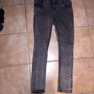 Skinny Jeans- Black Denim
