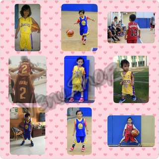 Jersey NBA Hasil PO Custom Anak & Dewasa