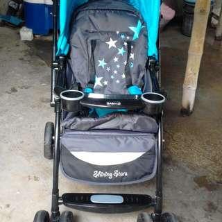 slightly used baby 1st stroller