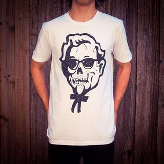 Uncle Reco - KFC Death White Tee - 3XL