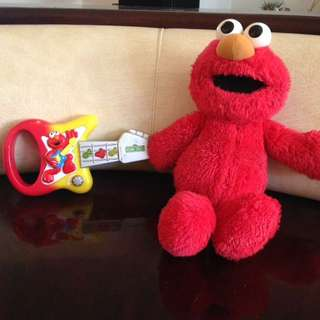 Elmo Toy Bundle