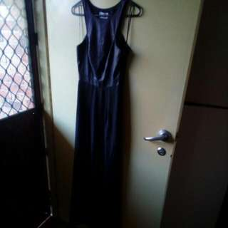 Bettina Liano Black Long Dress
