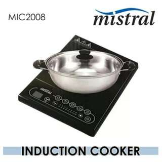 BNIB Mistral Induction Cooker MIC2008