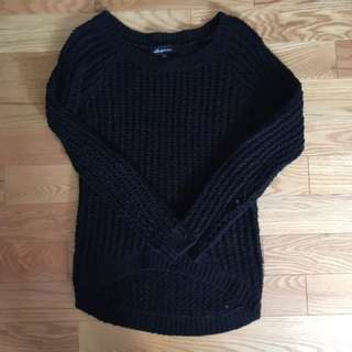 Wool Black Sweater