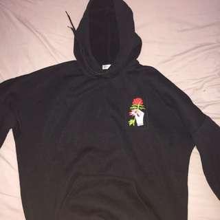 Black Rose Hoodie (M/L)