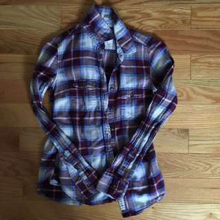 Trendy Plaid Shirt