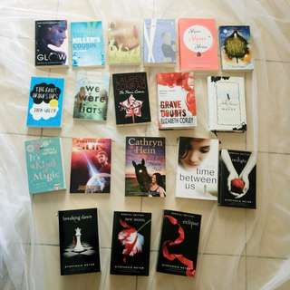 $5 and Less - Various YA Young Adult Books Fantasy Contemporary Historical