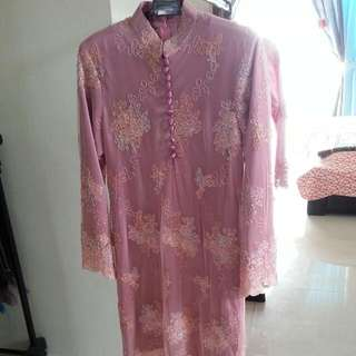 Kurung Lace Without Kain