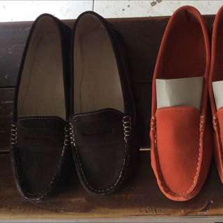 Loafers Leather Shoes