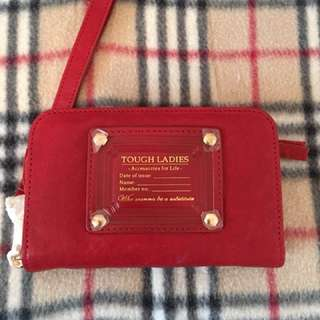 Tough Jeans Inc Leather Wallet