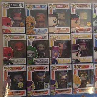 Funko Pop Vinyl! Chase, SDCC, Retired, Vaulted All Variant Mystery Sale!