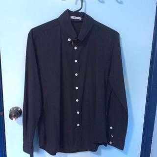 Mr. cc - Black Button Up