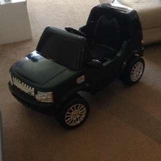 Land Rover Motorised Car
