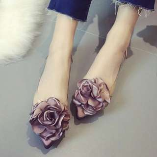 Beautiful Petal Flats