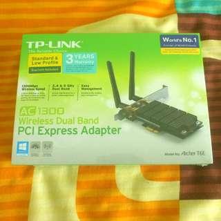 AC1300 Wireless Wifi Dual Band PCI Express Adapter Archer T6E PCI-E
