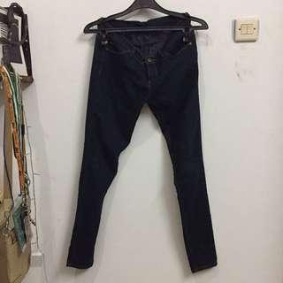 Forever 21 Dark Blue/Navy Skinny Jeans