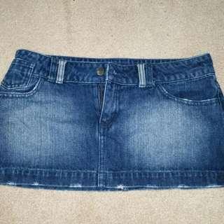 Rusty Mini Skirt