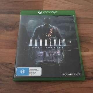 Murdured: Soul Suspect & Gears Of War 4 - XBox One