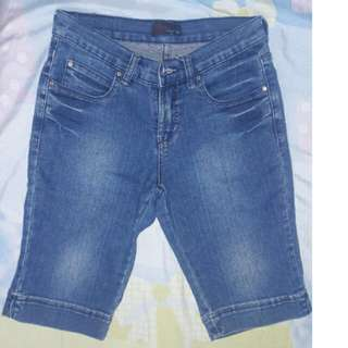 BNY Jeans Pedal Shorts