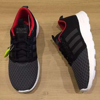 adidas CF SWIFT RACER 透氣布 黑 灰 紅 輕量 慢跑鞋 休閒鞋 全新 保證正品 大尺寸
