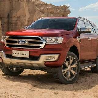 Ford Everest Titanium w/ Navi