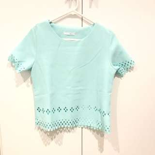 Tiffany Blue Top