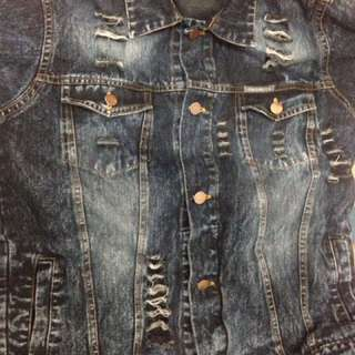 Jaket Acid Jeans Roughneck (Ripped)