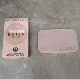 maybelline dream satin skin compact powder