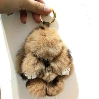 bunny kopenhagen fur bagcharm