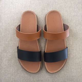 Two Tone Sandals #ClearanceSale