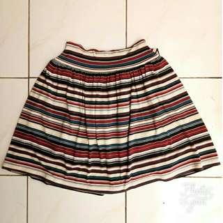 Mini Skirt Stripe #clearancesale