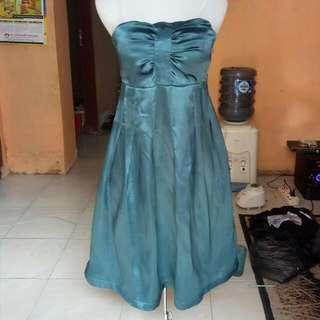 Midi Party Dress Satin