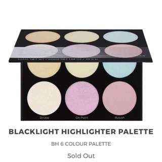BH Cosmetics Backlight Highlighting Palette