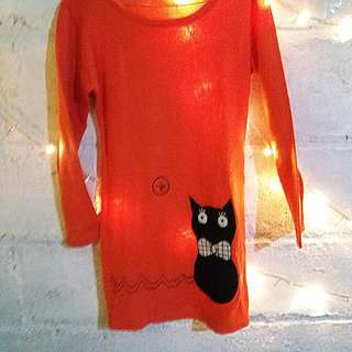 Sweater Orange Cat