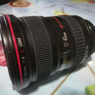 Canon L len 17-40